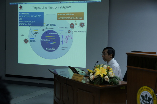 HIV Drug Resistance to Polgene Kit by Prof. Kiat