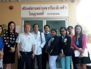 bria staff take photo with dr.charoen & bangpakok 9 inter's staff.