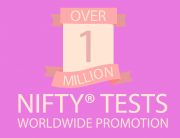 over 1 million nifty tests worldwide promotion