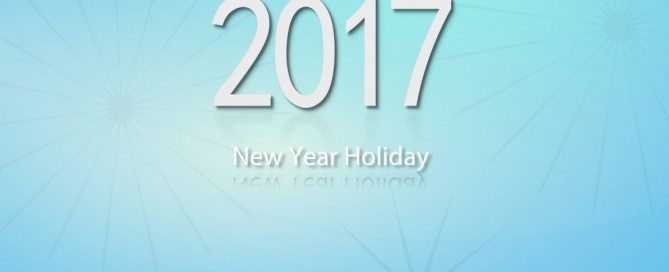 new year holiday 2017